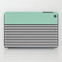 STRIPE COLORBLOCK {MUTED… iPad Case