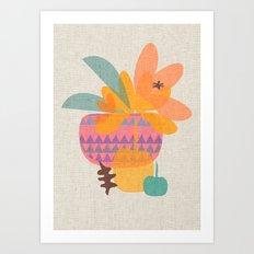 Tropical Art Print