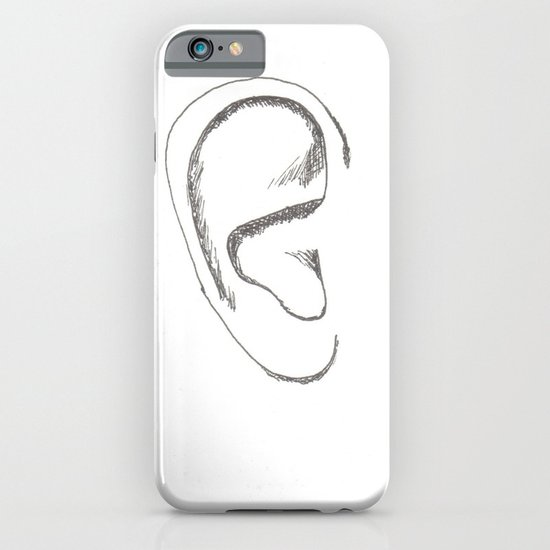 an earful Right iPhone & iPod Case