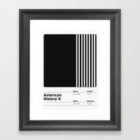 American History X Framed Art Print