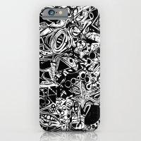 Black/White #1 iPhone 6 Slim Case