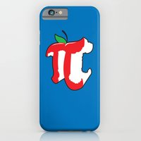iPhone & iPod Case featuring Apple Pi by Tom Burns