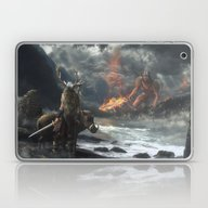 Laptop & iPad Skin featuring The Swarthy One by Rowye