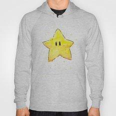 Invincibility Star Mario Art Hoody
