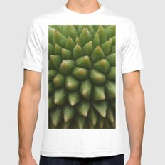BABY DURIAN  Mens Fitted Tee SMALL White