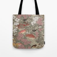 Fishes & Flowers - Seaml… Tote Bag