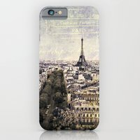 iPhone & iPod Case featuring la tour eiffel by inourgardentoo