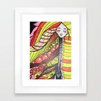 All is Vanity Framed Art Print