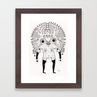 All Hail Framed Art Print