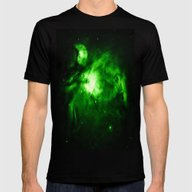 NEBUla  Mens Fitted Tee Black SMALL