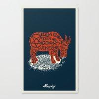 Murphy Canvas Print