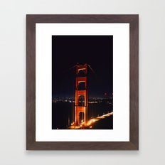 The Golden Gate Framed Art Print