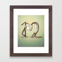 the 12 Monkeys Framed Art Print