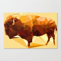 Syncerus caffer Canvas Print