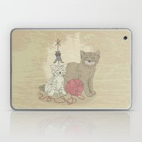 Naughty Cats Laptop & iPad Skin