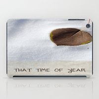 That Time of Year iPad Case