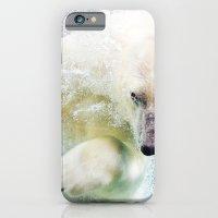 polar bear iPhone & iPod Cases featuring Polar Bear by Pati Designs