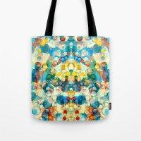 Tote Bag featuring Thangka by Tina Carroll