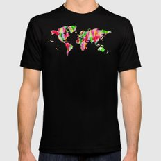 Tulip World #119 Mens Fitted Tee Black SMALL