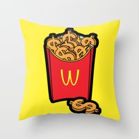 Pop Icon - Warhol Throw Pillow