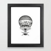 Jellyfish Joyride Framed Art Print