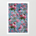 Flowers in the Sky Art Print