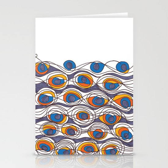 peacock Stationery Card