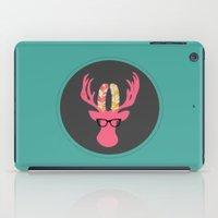 Deer Hipster iPad Case