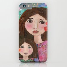 Mom and Daughter  iPhone 6 Slim Case