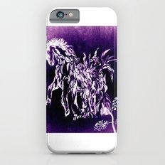 Horse Flower iPhone 6 Slim Case