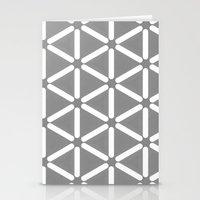 Wildeman Grey Pattern Stationery Cards