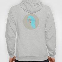 Emo Girl-Grey Hoody