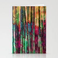 Colored Bamboo Stationery Cards