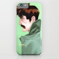 iPhone & iPod Case featuring Brunette Man by Erik Krenz