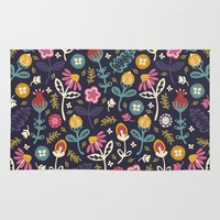 Ditsy Flowers Rug