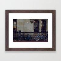 Bikes In Amsterdam Framed Art Print