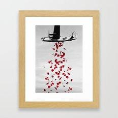More Love Please! Framed Art Print