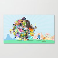 Adventure Time - Land Of… Canvas Print