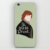 Jamie Fraser Quote iPhone & iPod Skin