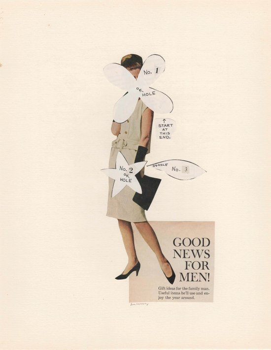Good News For Men! Art Print