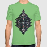 Maze Mens Fitted Tee Grass SMALL