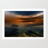 Gloomy Sky 0016 Art Print