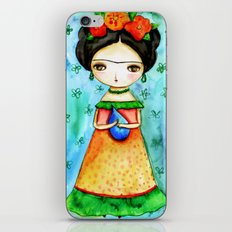 Frida And Her Tears iPhone & iPod Skin