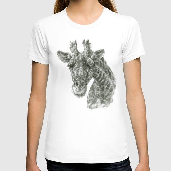 The giraffe G2012-049 T-shirt