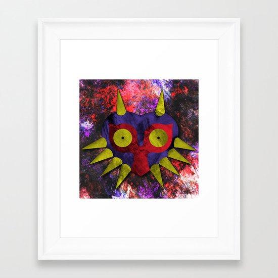 Majora Framed Art Print