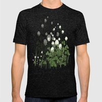 Klee - clover Mens Fitted Tee Tri-Black SMALL