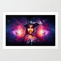 Art Print featuring Pandora's Box by Falcon White