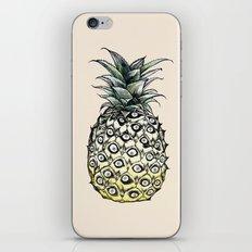 Pineapple Meaw iPhone & iPod Skin