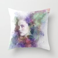 Lydia Martin Throw Pillow
