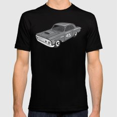 Stock Car 01 - Ted Schmilly Black Mens Fitted Tee SMALL